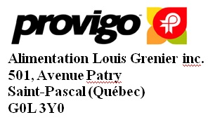 Alimentation Louis Grenier inc.