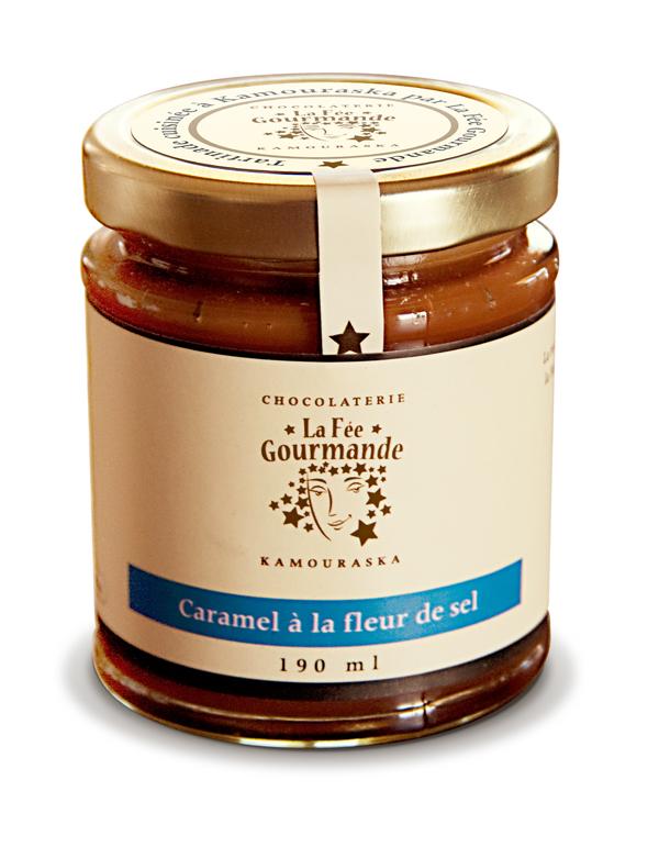 Tartinade de caramel à la fleur de sel   Les Saveurs du ...