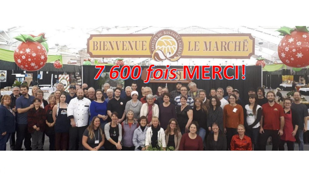 MERCI marché 2017